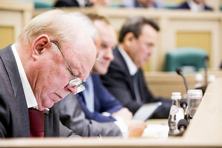 353 заседание СФ Лопатников