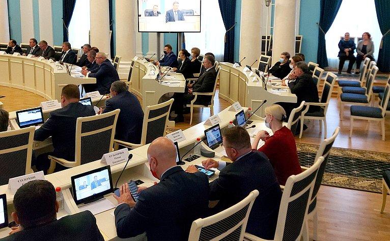 Ирина Петина приняла участие впервом пленарном заседании Рязанской областной Думы VII созыва