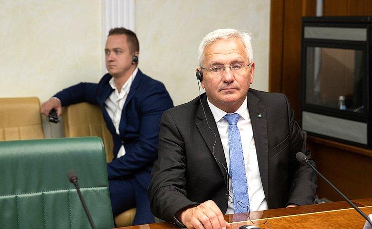 Встреча С. Лисовского сделегацией Немецкого сельскохозяйственного общества