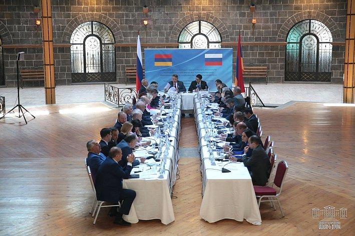 Визит делегации Совета Федерации воглаве сЮ.Воробьевым вАрмению