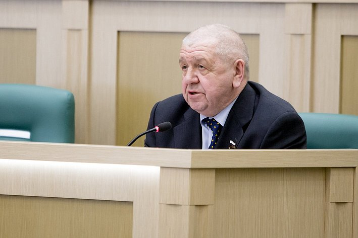 368-е заседание Федоров