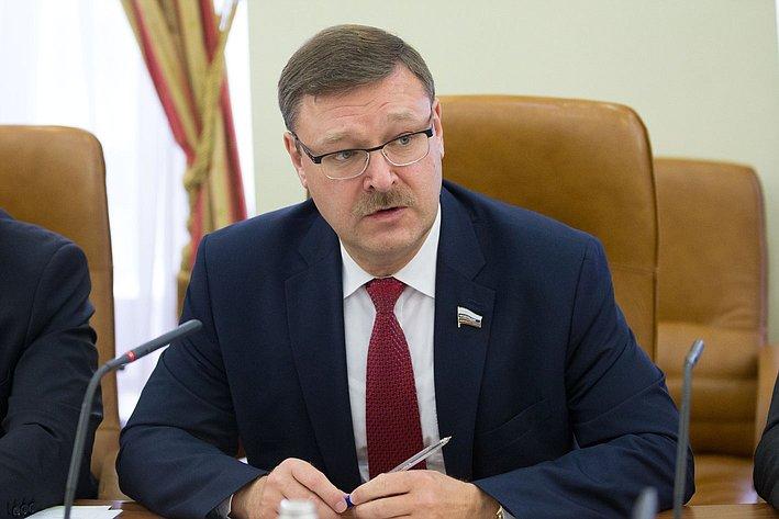 К. Косачев провел парламентские слушания на тему: «Повестка дня ООН в области развития на период после 2015 года: практические аспекты реализации»