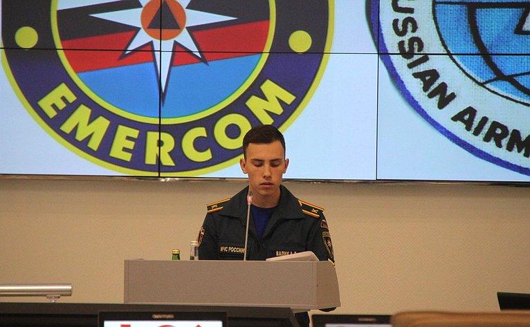 Юрий Воробьев посетил Санкт-Петербургский университет ГПС МЧС России