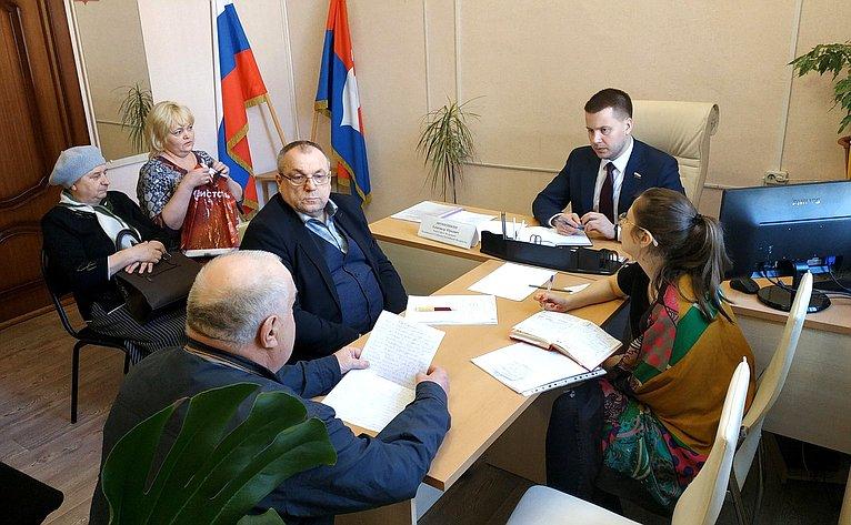 Александр Пронюшкин провел приемы граждан Владимирской области