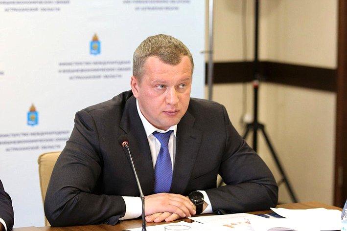 Заседание поподведению итогов работы загод министерства международных ивнешнеэкономических связей Астраханской области