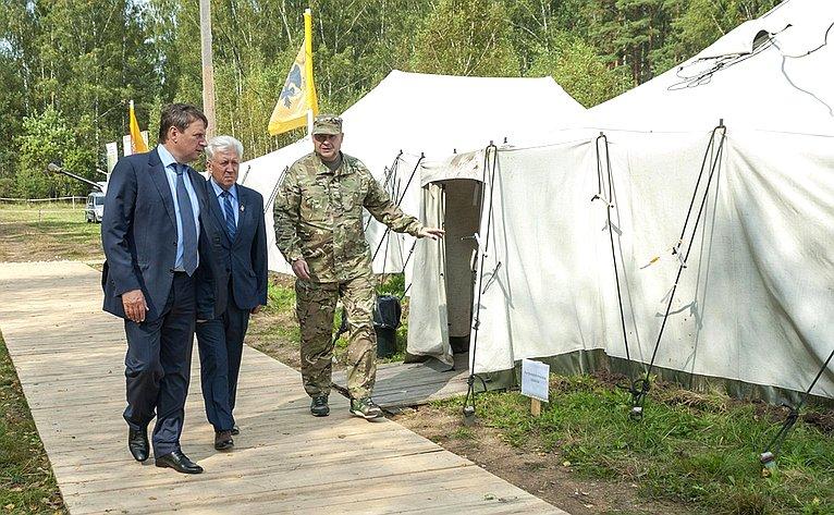 Андрей Епишин посетил экспедиционный лагерь «Ржев. Калининский фронт— 2018»