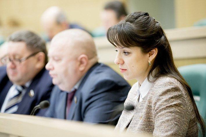 367-е заседание Совета Федерации Вепринцева