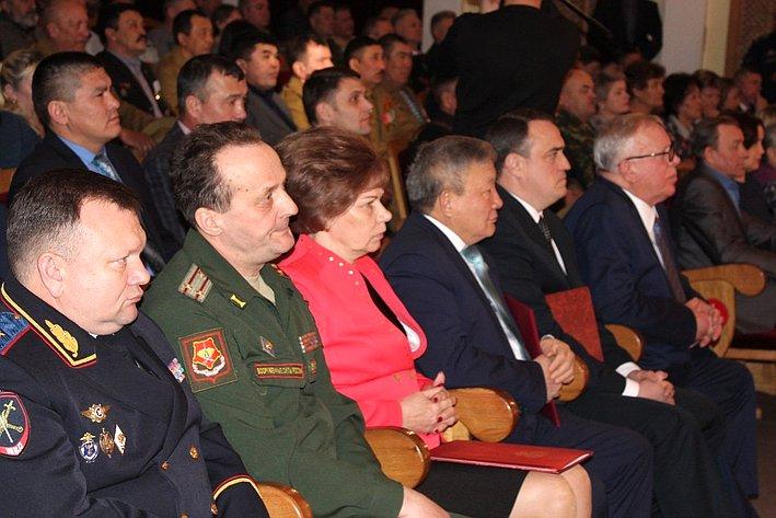 Сенатор Татьяна Гигель приняла участие вторжественном мероприятии, посвященном 30-летию вывода войск изАфганистана