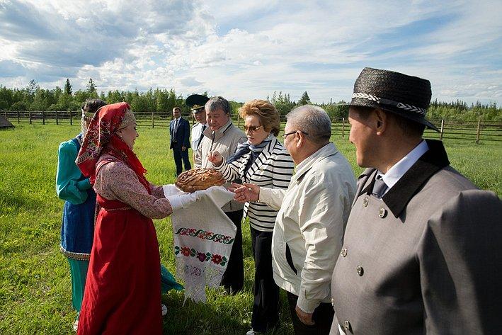 Визит делегации СФ в Якутию