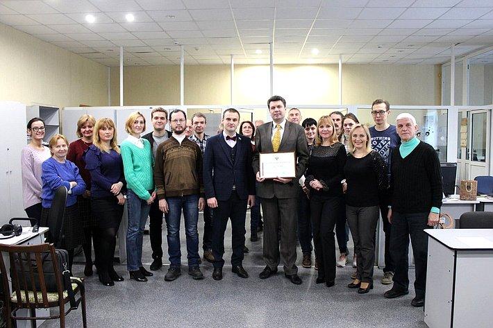 Сергей Леонов провел встречи сжурналистами