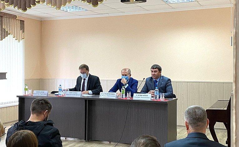 Константин Косачев посетил социально значимые предприятия Йошкар-Олы