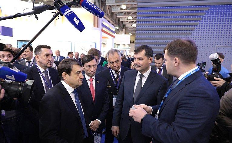 Максим Кавджарадзе принял участие воткрытии VI Национальной выставки инфраструктуры гражданской авиации NAIS