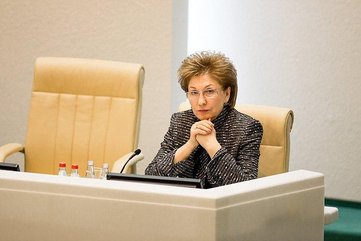 366-е заседание Совета Федерации Карелова