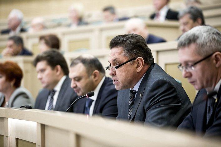 366-е заседание Совета Федерации Тимченко