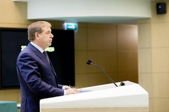 370-е заседание Совета Федерации Н. Федоряк