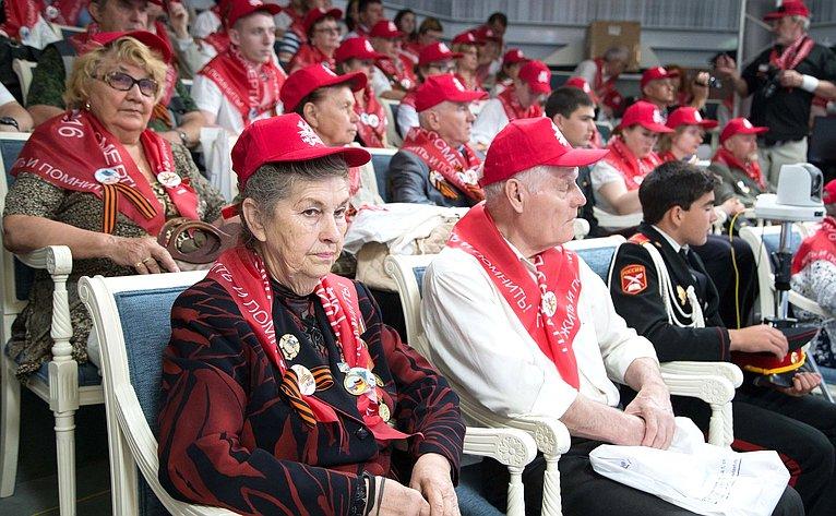 Навстрече сучастниками военно-патриотической акции «Мы помним. Так начиналась война»