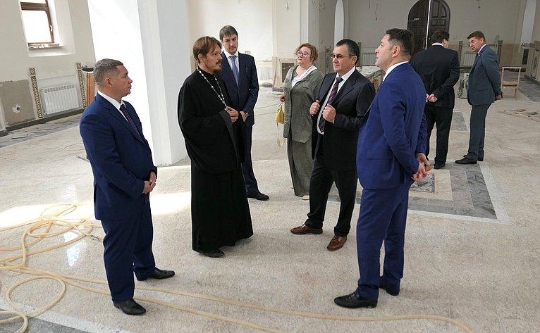 Визит Николая Федорова вКисловодск
