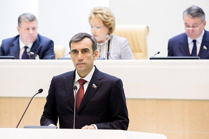 370-е заседание Совета Федерации Н. Власенко