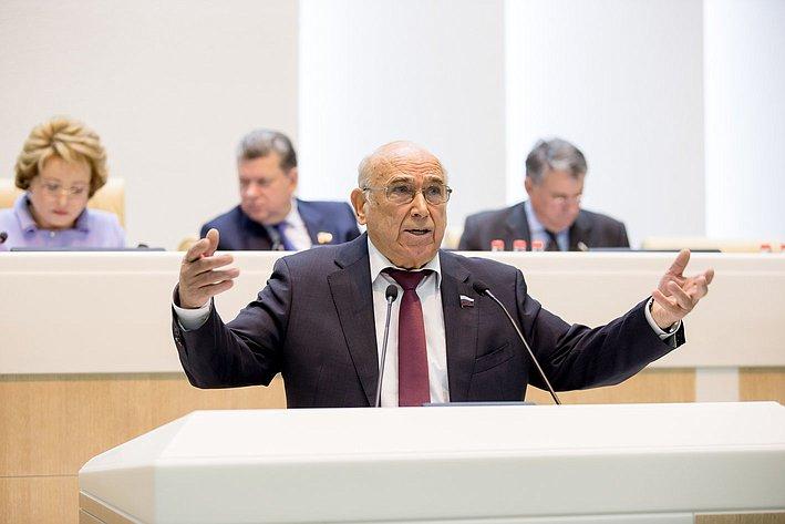 Рогоцкий 380-е заседание Совета Федерации