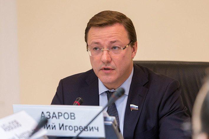 Парламентские слушания в СФ Азаров