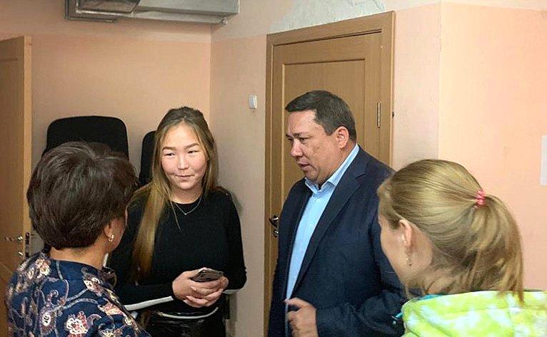 Владимир Полетаев посетил Усть-Коксинский район Республики Алтай
