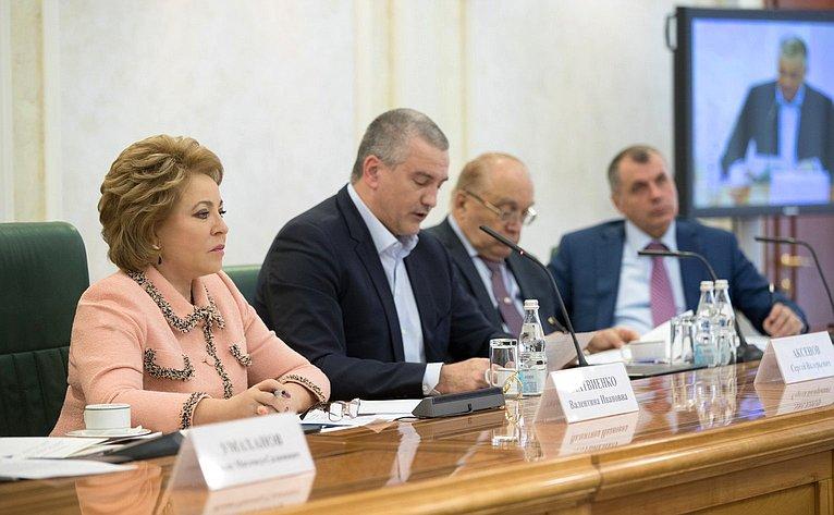 В. Матвиенко назаседании Организационного комитета III Международного Ливадийского форума
