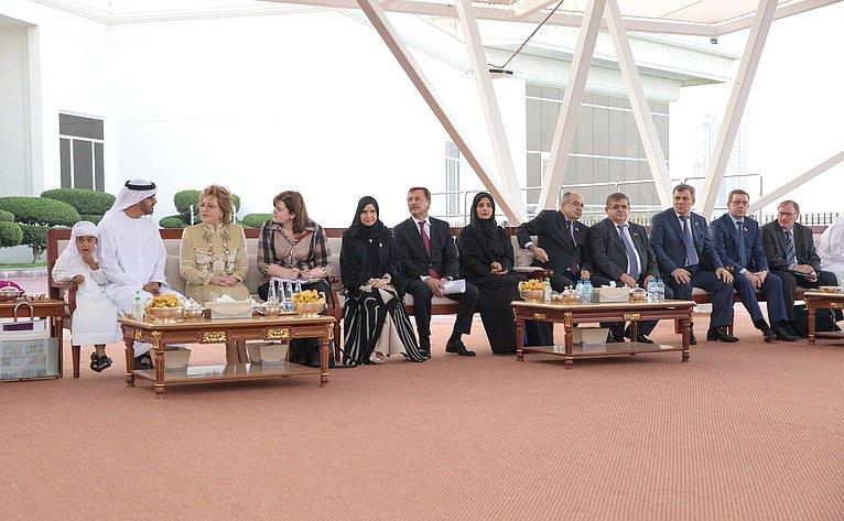 Визит делегации Совета Федерации вОАЭ