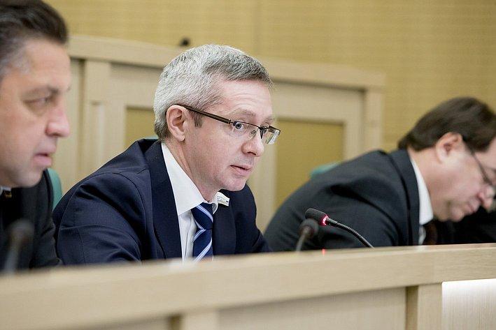 367-е заседание Совета Федерации Казаковцев