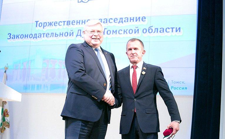 Владимир Кравченко игубернатор Томской области