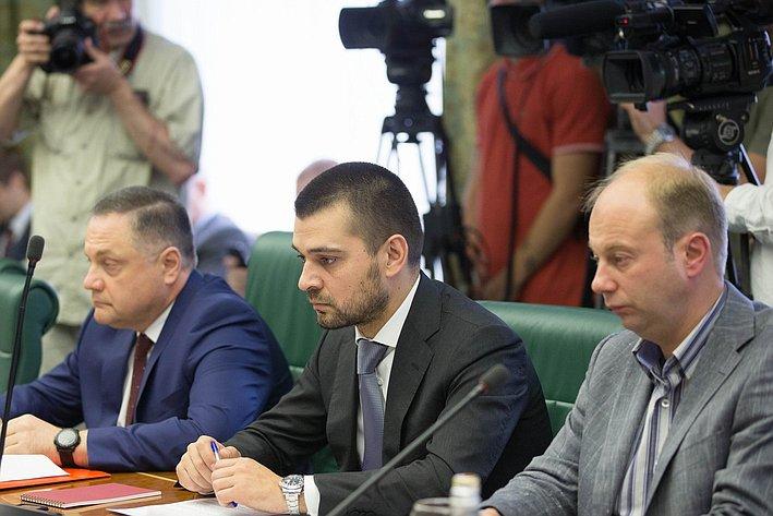 Заседание Комитета общественной поддержки Юго-Востока Украины-3 Мамедов