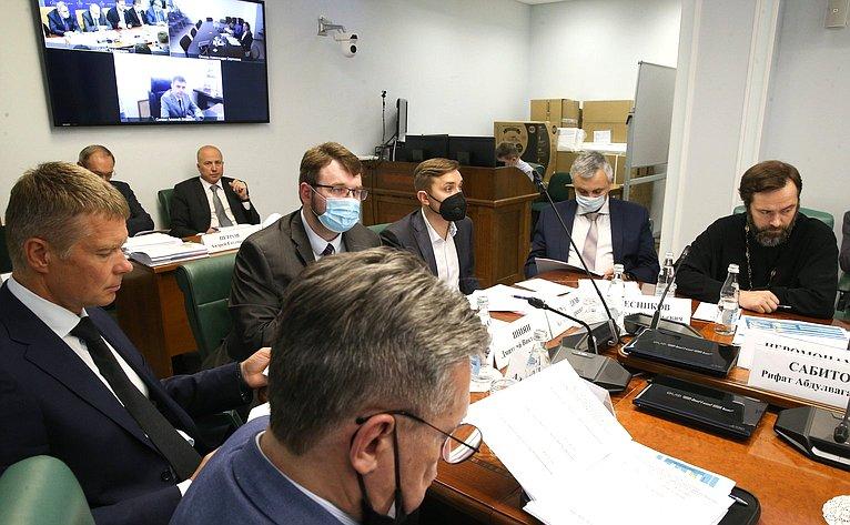 Второе заседание межведомственной рабочей группы поподготовке Всемирной конференции помежкультурному имежрелигиозному диалогу