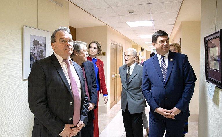 Открытие выставки Москва имосквичи вСовете Федерации