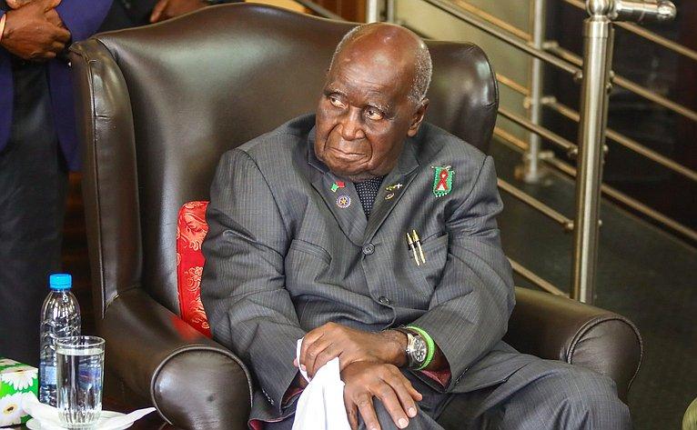 Первый Президент Замбии Кеннет Каунда