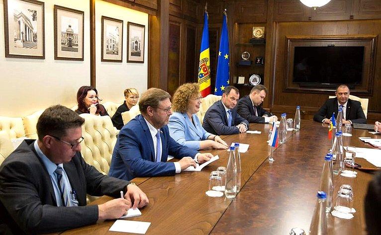 Встречи российской делегации сЗинаидой Гречаный