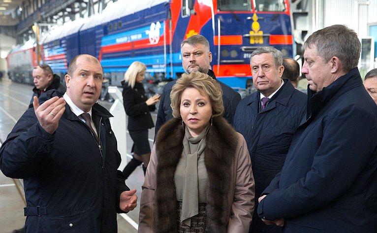 Посещение АО УК БМЗ «Брянский машиностроительный завод»