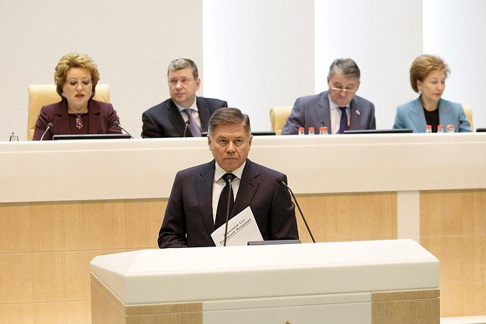 365-е заседание Лебедев