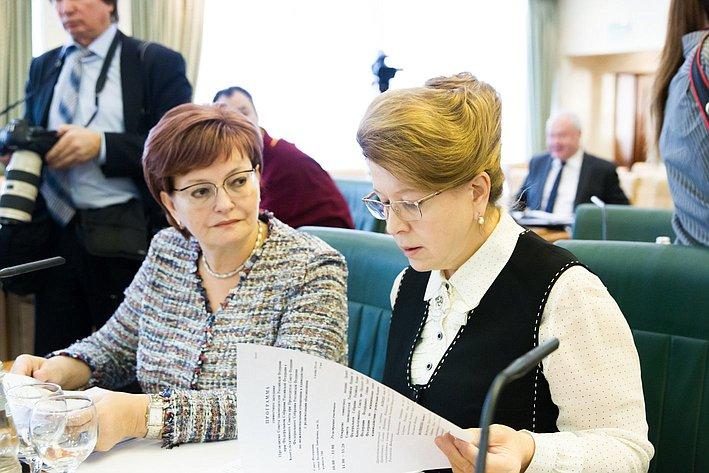 Заседание Президиума Совета законодателей РФ и Консультативного совета по межнациональным отношениям -5
