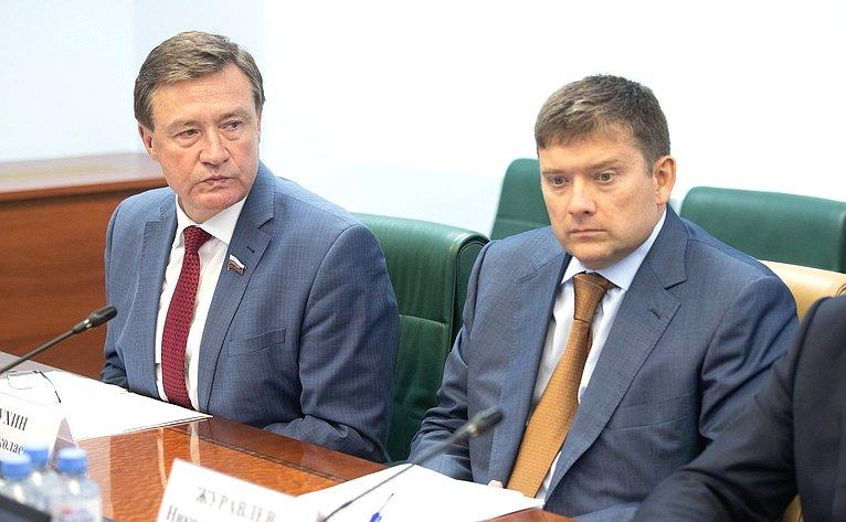 С. Рябухин иН. Журавлев