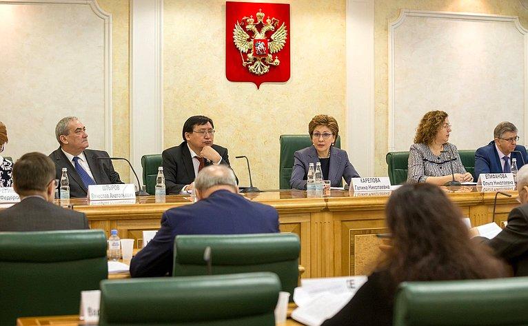 Заседание Совета поАрктике иАнтарктике натему «Актуальные проблемы здравоохранения всубъектах РФ, входящих всостав Арктической зоны РФ»