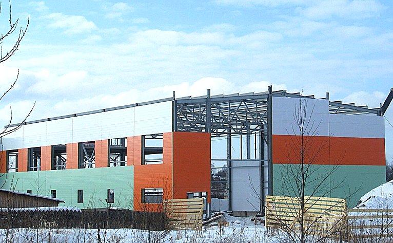 Строительство спального корпуса на100 мест для кадетской школы