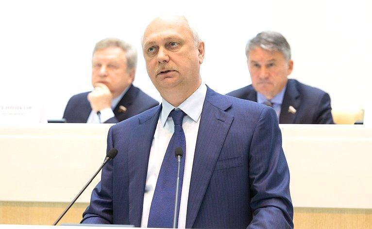 Выступление назаседании Совета