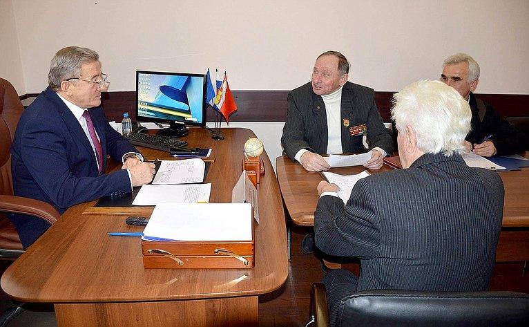 Сергей Лукин провел прием граждан
