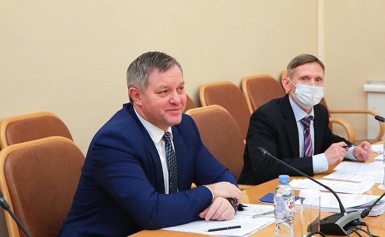 Заседание постоянной комиссии Межпарламентской Ассамблеи СНГ поэкономике ифинансам