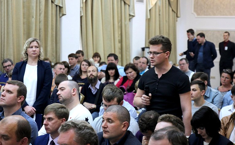 Людмила Бокова входе поездки врегион приняла участие вбизнес-семинаре натему «Информационная безопасность предприятия»