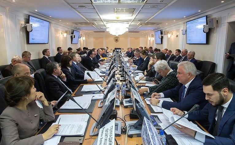 Заседание Совета помежнациональным отношениям ивзаимодействию срелигиозными объединениями при Совете Федерации