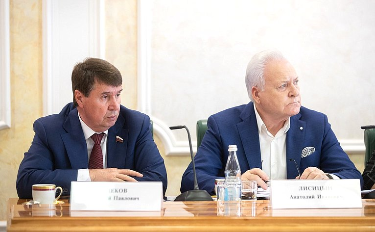 С. Цеков иА. Лисицын