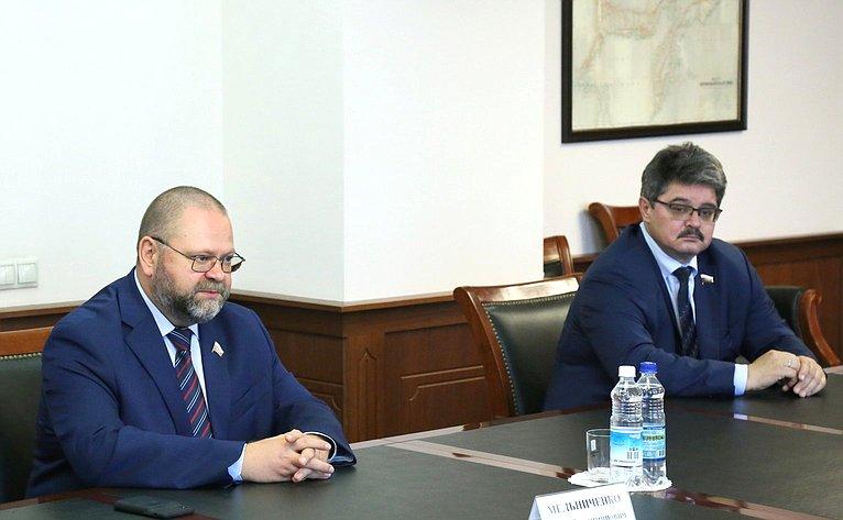 Олег Мельниченко иАнатолий Широков