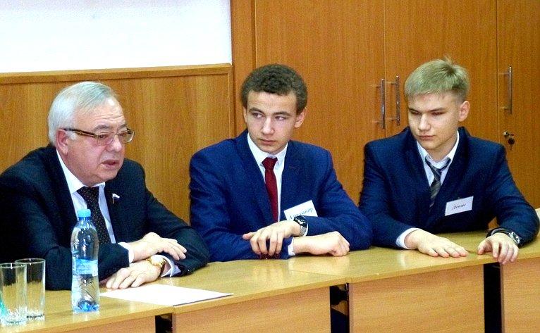 Владимир Бочков принял участие вовсероссийском уроке современной истории России