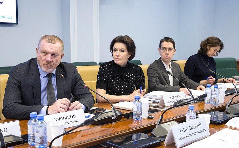 Заседание рабочей группы Комитета СФ посоциальной политике