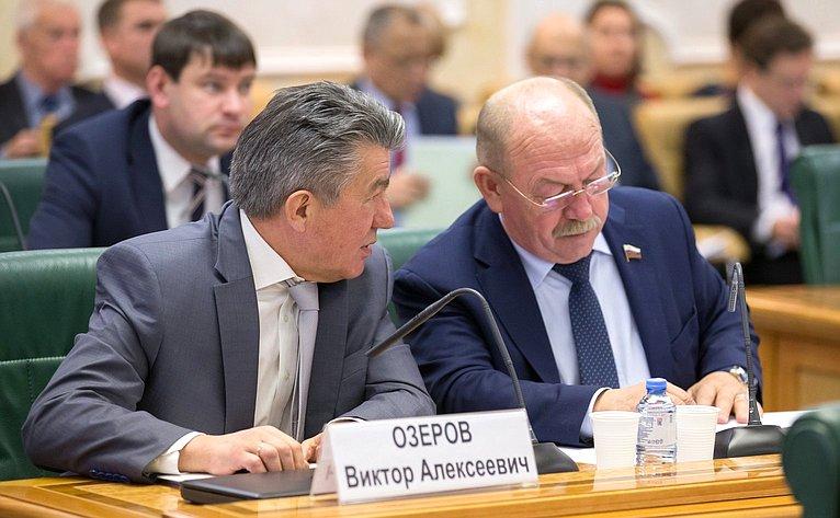 Виктор Озеров иГеннадий Орденов